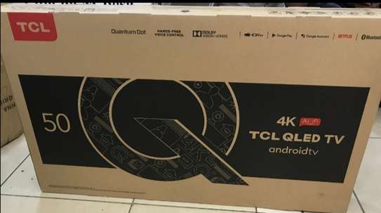 50 TCL Qled Android UHD 4K television image 1