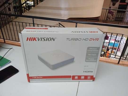 4 channel DVR hikvision image 1