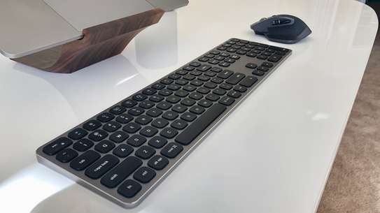 Apple Magic Bluetooth Wireless Mouse A1296 / Apple Magic Keyboard with Numeric Keypad (Space Grey) image 8