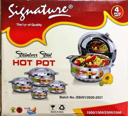 Signature stainless steel hotpot image 1