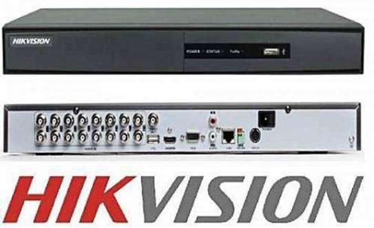 Hikvision 16 Channel 720p DVR Machine White image 1