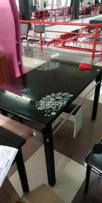 Elegant and generous appearance dining room table image 1