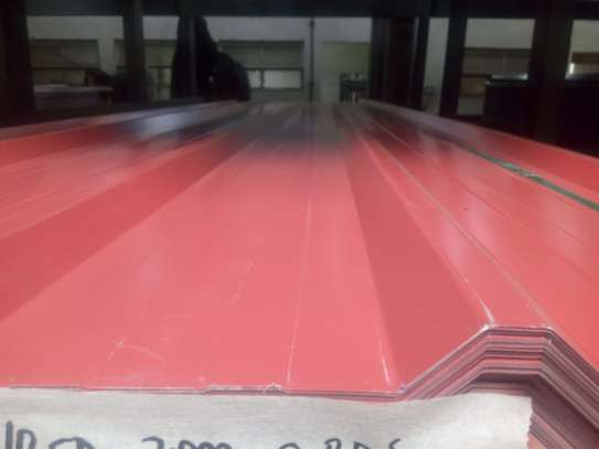 2.5 mtrs Box Profile Roofing Sheet image 2