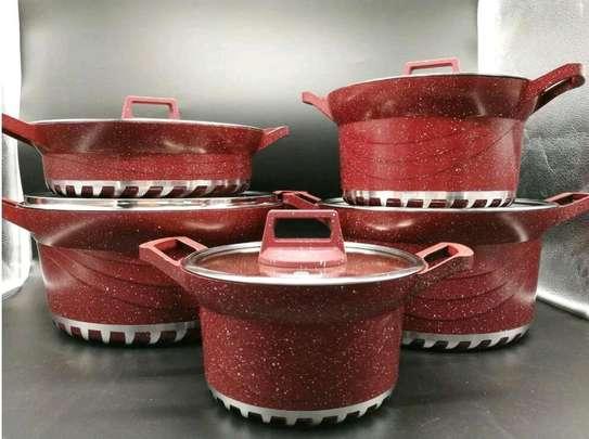 Bosch Cookware Set....10 pieces image 1