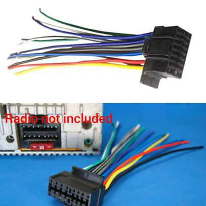 NEW SONY XPLOD 16-PIN RADIO WIRE HARNESS CAR AUDIO STEREO POWER PLUG BACK CLIP.