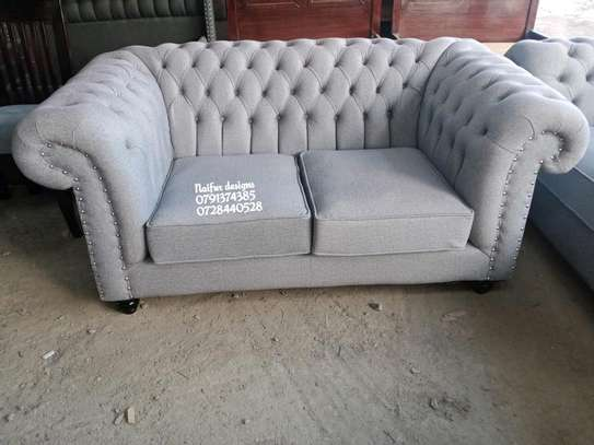 Two seater sofas/modern chesterfield sofas image 1