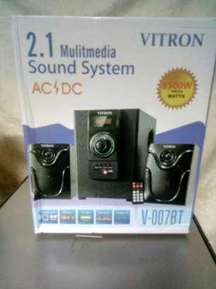 Vitron 2.1 Channel Hi-fi subwoofer speaker system image 1