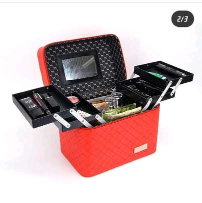 Make up organizer box image 2