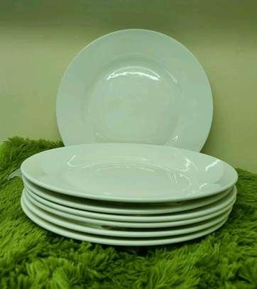 Ceramic dinner plates 6pcs image 1