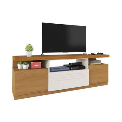 TV Stand Rack Munique ~ Up to 50 Inches TV Space image 1