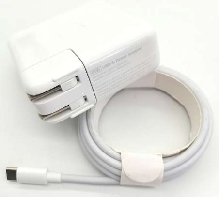 """Original 61W USB-C Power Charger Type C Adapter for MacBook PRO 13"""" A1718 +Cable image 5"""