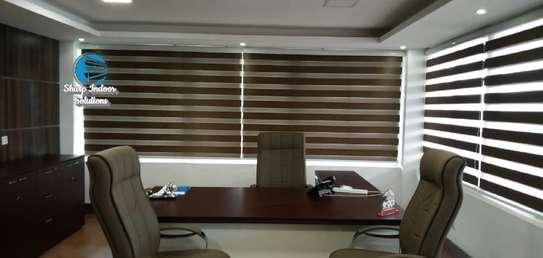 zebra polyester blinds image 2
