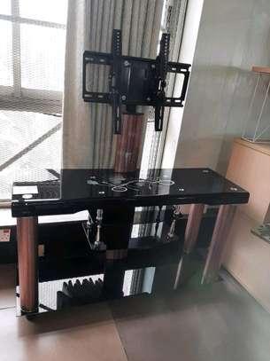 Glass TV Stand image 1