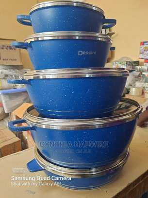 10pc Dessini Granite Cookware Set image 1