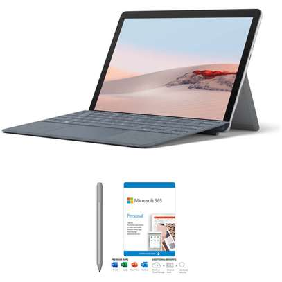 """Microsoft 10.5"""" Multi-Touch Surface Go 2 (Wi-Fi Only) Kit with Surface Pen and Microsoft 365 Personal 1-Year Subscription image 1"""