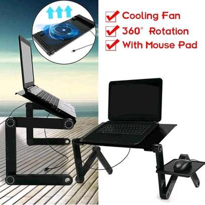 Laptop Stand Adjustable Laptop Desk With Mouse Pad image 4