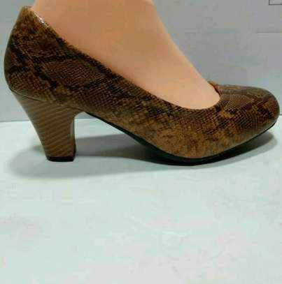 Leather official shoes @3000 image 2