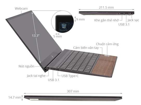 HP Envy 13 - aq1057TX Wood Edition 10th Generation Intel Core i5 Processor image 8
