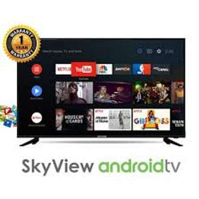 Skyview 50 Inch Smart Android frameless Led Tv image 1