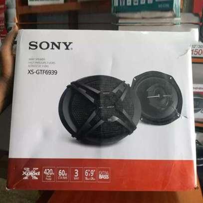 Sony XS-GTF6939 3-way 6x9 Inch Car Speakers image 1