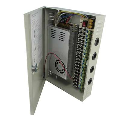 Centralized 18 channel 20amps CCTV power supply image 2