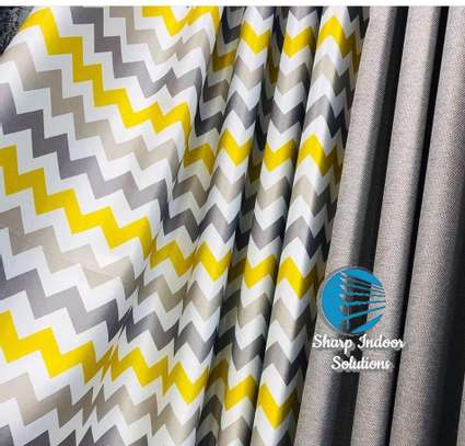 decorative double sided curtains image 6