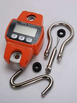 Duty Industrial Digital Crane Scale, Metal Hanging Scale With Screen Display image 1
