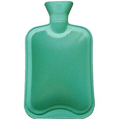 Hot water bottle green image 1