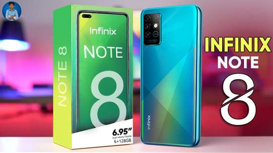 BRAND NEW SEALED INFINIX NOTE 8 6/129 image 1