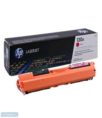 HP 130A Magenta toner cartridge (CF351A) image 1