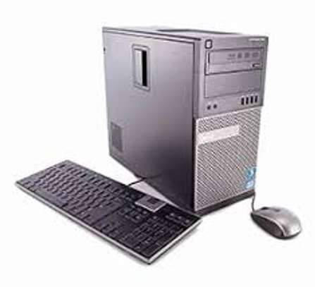 Desktop cpu Tower corei5 4GB, 500GB HDD, 3.30Ghz processor speed (with windows 10) image 2