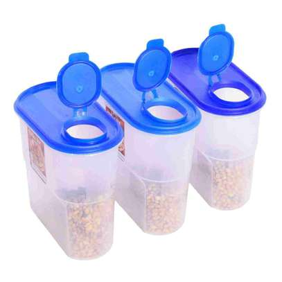 Cereal Food Jar Dispenser and Storage Containers- 2KG