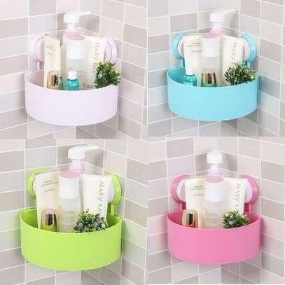 4 Tier Bathroom Shelf Corner Rack Organizer - Assorted Colours