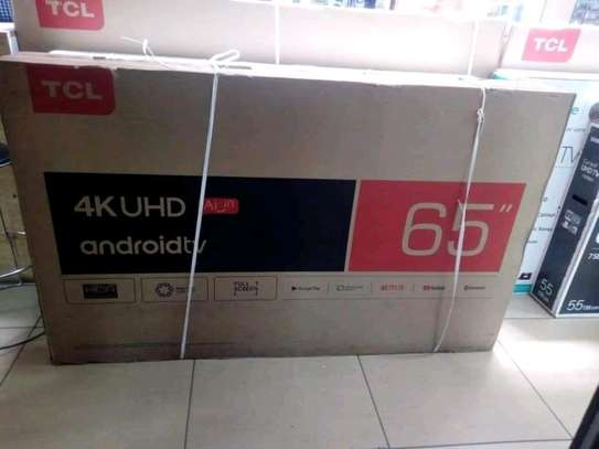 65 inch TCL smart UHD 4K Android image 1