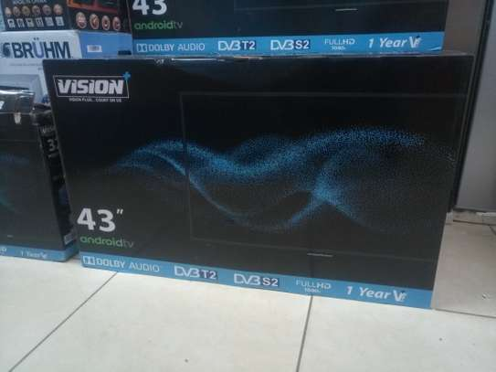 Vision 43inches smart android tv image 1