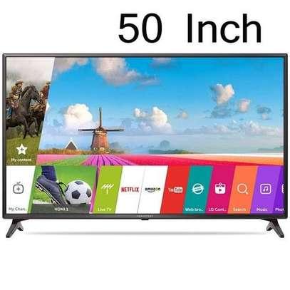 Nobel Android 50 inches Smart UHD-4K Digital Frameless TVs image 1