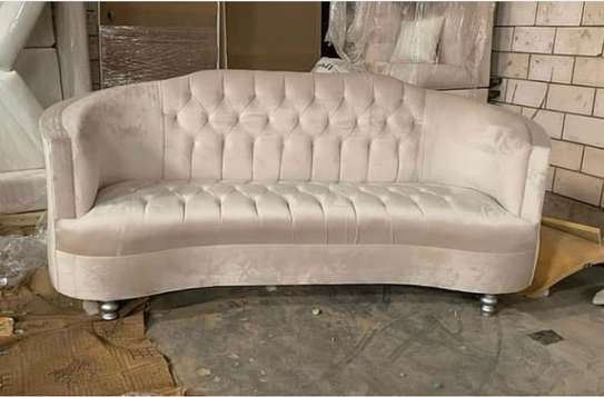 New three Seater Chesterfield sofa image 1