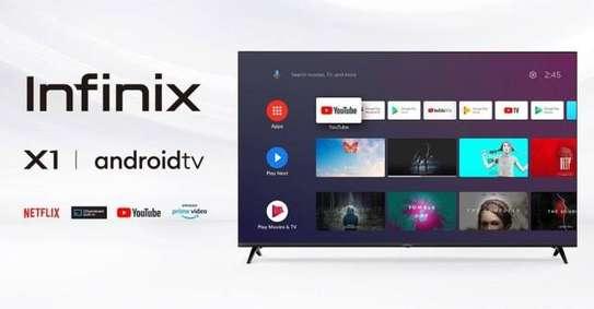 """43"""" infinix smart Android frameless full HD tv image 1"""