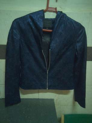 Blue Ladies Coat
