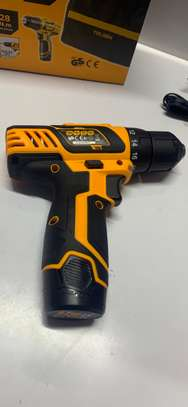 Tolsen 12V cordless drill with impact driver pack image 3