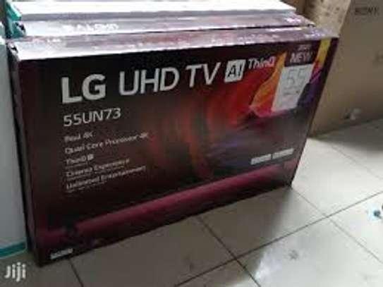 LG 55 INCH SMART 4K UHD UN7340 TV image 1