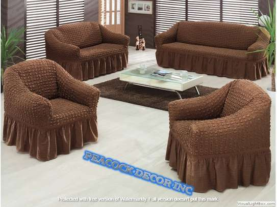 Ready Made Loose Covers 5 seater 11500/= image 5