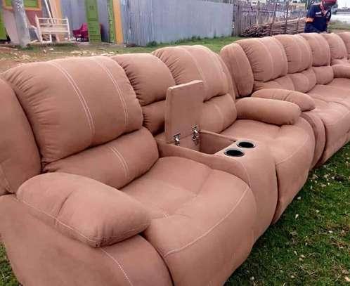 5 Seater Recliner Sofa image 1