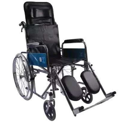 Recliner Foldable wheelchair image 1