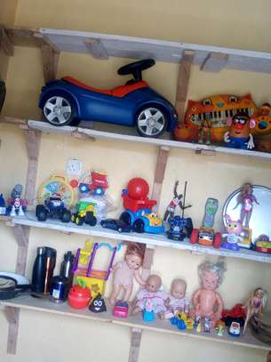 Assorted second hand toys