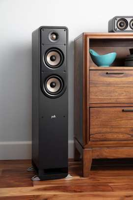 The NEW Polk Audio S50e High Resolution Home Theatre Tower Speakers, Pair image 2