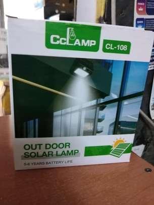 Motion sensor Outdoor solar lamp image 3