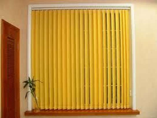 Office blinds yellow image 2