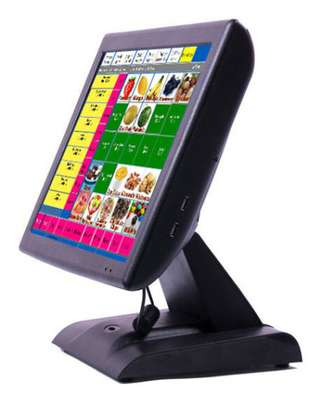 """15"""" All in One Touch Screen Wireless POS Terminal /Wireless image 1"""