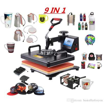 New design Combo 8 in 1 Digital Transfer Sublimation image 1